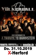 31-10-2019 Völkerball - A Tribute to Rammstein