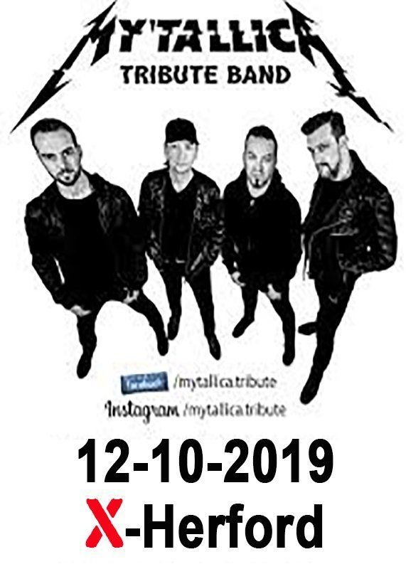 12-10-2019 Mytallica - Best of Metallica live im X- Herford
