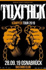 28-10-2019 Toxpack Kämpfer Tour 2019 // Bastard Club Osnabrück