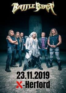 23-11-2019 BATTLE BEAST | X-HERFORD