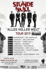 30-11-2019 Stunde Null - Alles voller Welt Tour 2019 | X-Herford