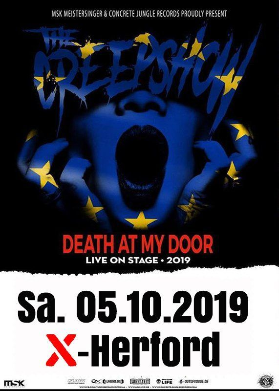 05-10-2019 The Creepshow | X Herford