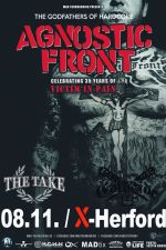 08-11-2019 Agnostic Front & The Take & Coldside | X-Herford