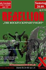 28-09-2019 Rebellion - the rockfuckinpartynight | X-Herford