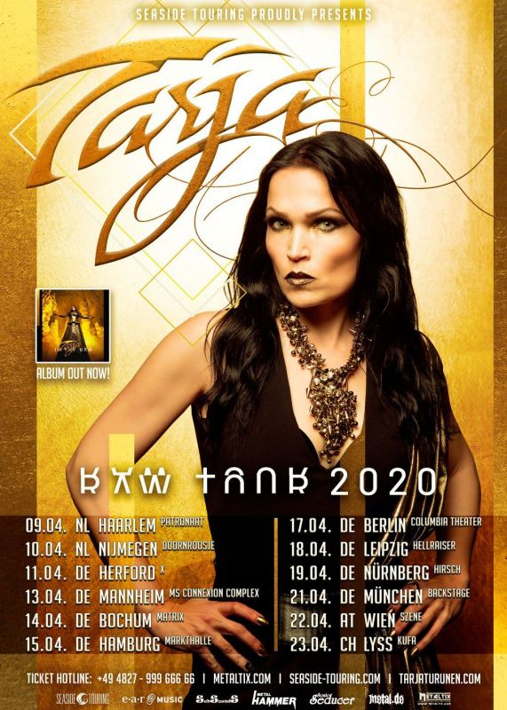 11-04-2020 Tarja - Raw Tour 2020 | X-Herford