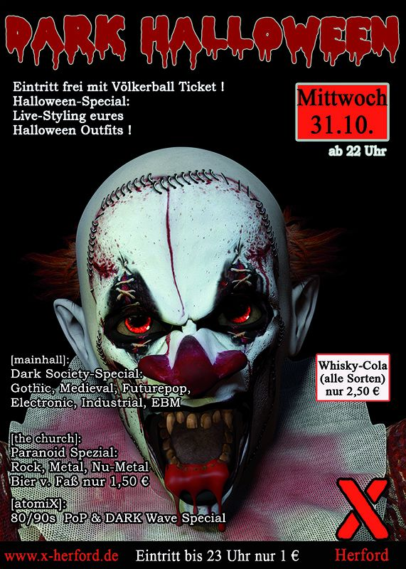 31-10-2019 Dark Halloween | X-Herford