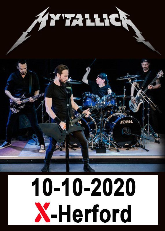 10-10-2020 Mytallica - Best of Metallica live in Herford | X-Herford