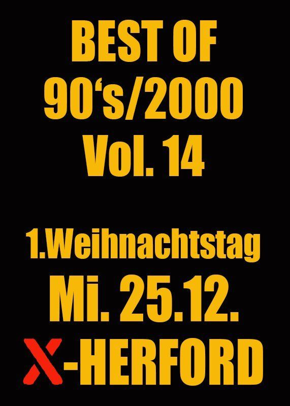 25-19-2019 Best of 90s-2000 Vol.14 | X-Herford