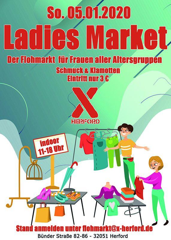 05-01-2020 Ladies Market | X-Herford