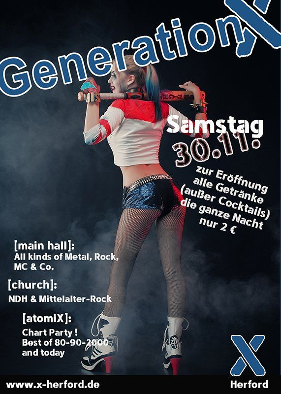 30-11-2019 Generation X | X-Herford