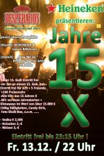 13-12-2019 15 Jahre X – Big Birthday Party| X-Herford