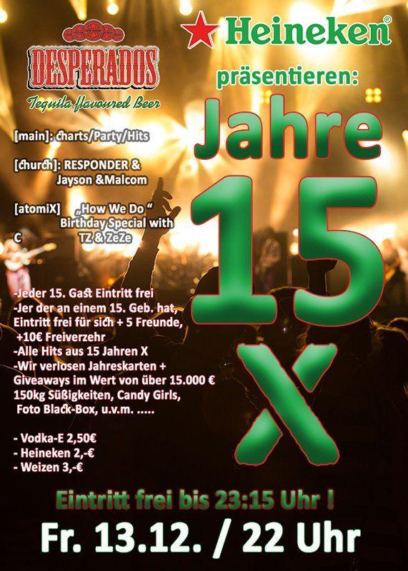 13-12-2019 15 Jahre X – Big Birthday Party| X-Herford