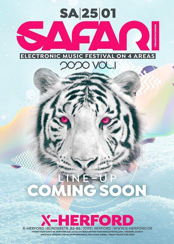 25-01-2020 SAFARI 2020 Vol-1 | X-Herford