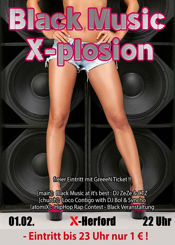 01-02-2020 Black Music X-plosion | X-Herford