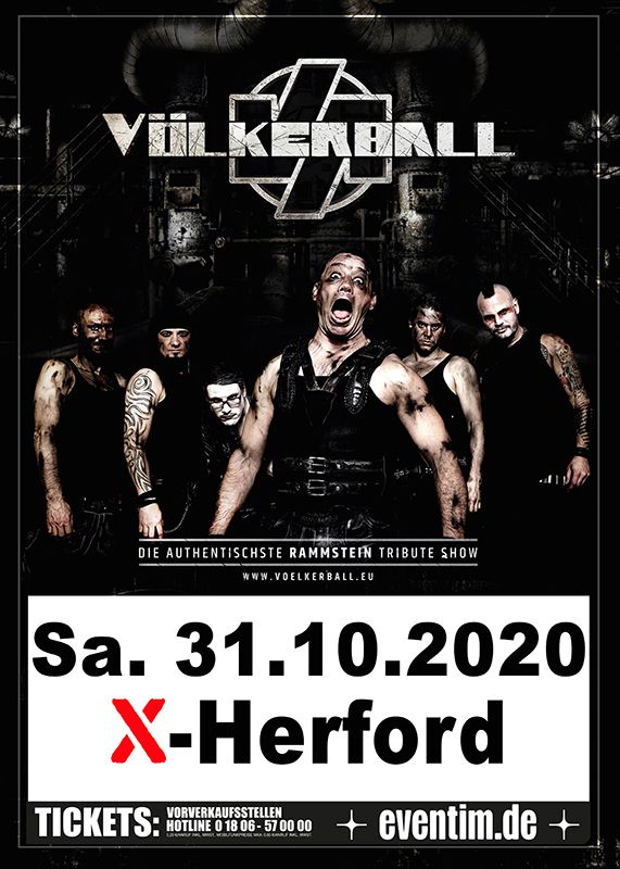 31-10-2020 Völkerball - A Tribute to Rammstein | X-Herford