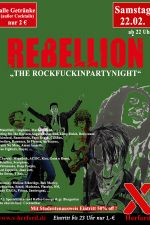 22-02-2020 Rebellion - the Rockfuckinpartynight | X-Herford