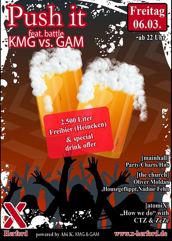 06-03-2020 Push it – KMG vs. GAM | X-Herford