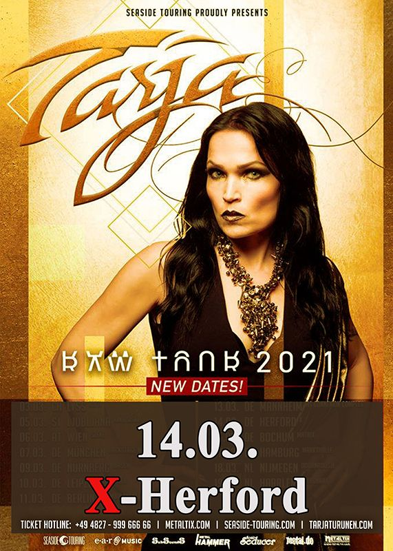 14-03-2021 Tarja - Raw Tour 2021 | X-Herford