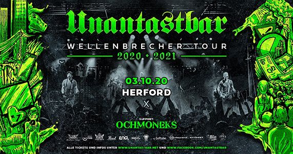 03-10-2020 Unantastbar - Wellenbrecher Tour 2020 | Herford