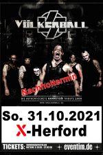31-10-2021 Völkerball - A Tribute to Rammstein | X-Herford