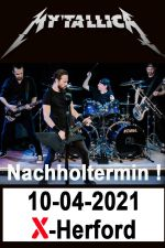 10-04-2021 Mytallica - Best of Metallica live in Herford | X-Herford