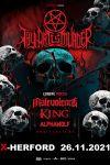 26-11-2021 Thy Art is Murder · Eu/uk Tour 2021   X-Herford