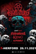 26-11-2021 Thy Art is Murder · Eu/uk Tour 2021 | X-Herford