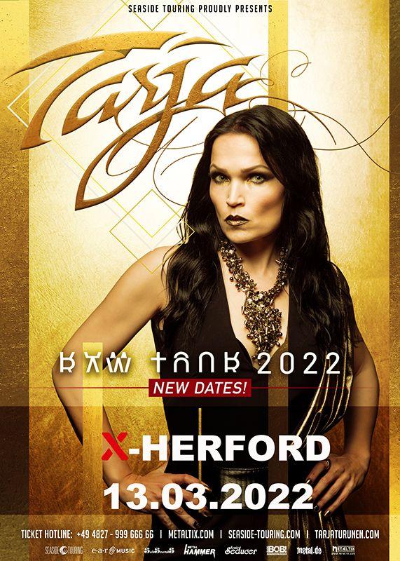 13-03-2022 Tarja - Raw Tour 2022 | X-Herford
