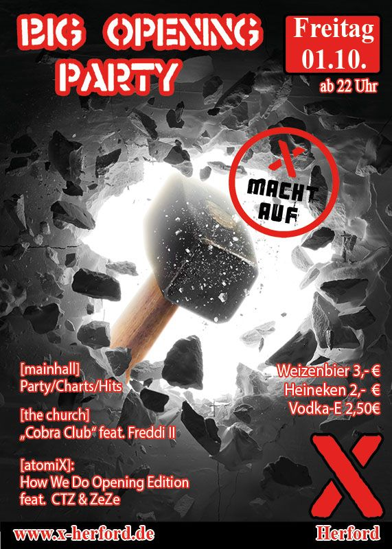 2021-10-01 Big Opening Party | X-Herford