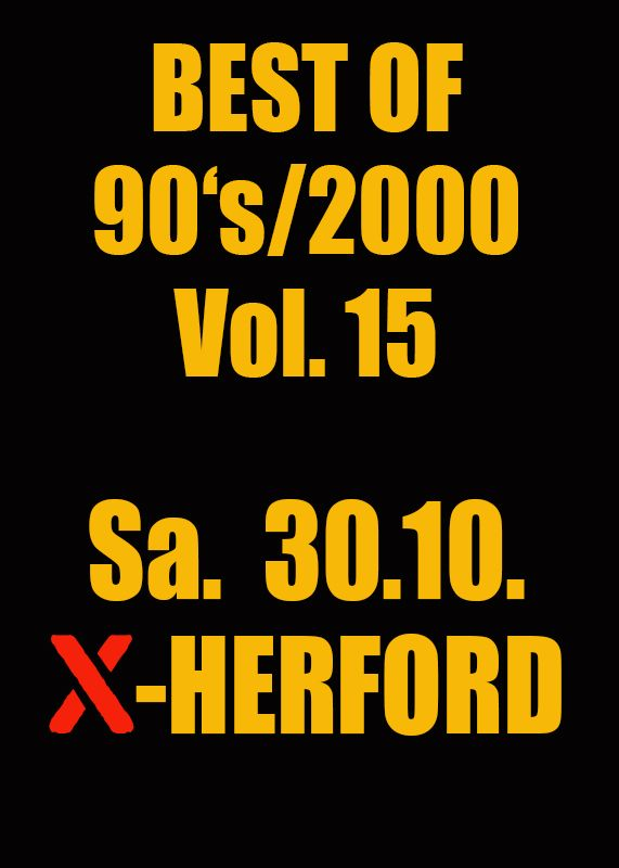 2021-10-30 Best of 90's/2000 Vol.15   X-Herford