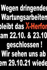 23-10-2021 geschlossen | X-Herford