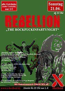 21-04-2019 1 Rebellion - the Rockfuckinpartynight