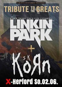 02-06-2019 Linkin Park Tribute + Korn Tribute | X-Herford