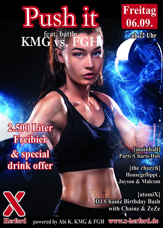 06-09-2019 Push it – feat. KMG vs. FGH
