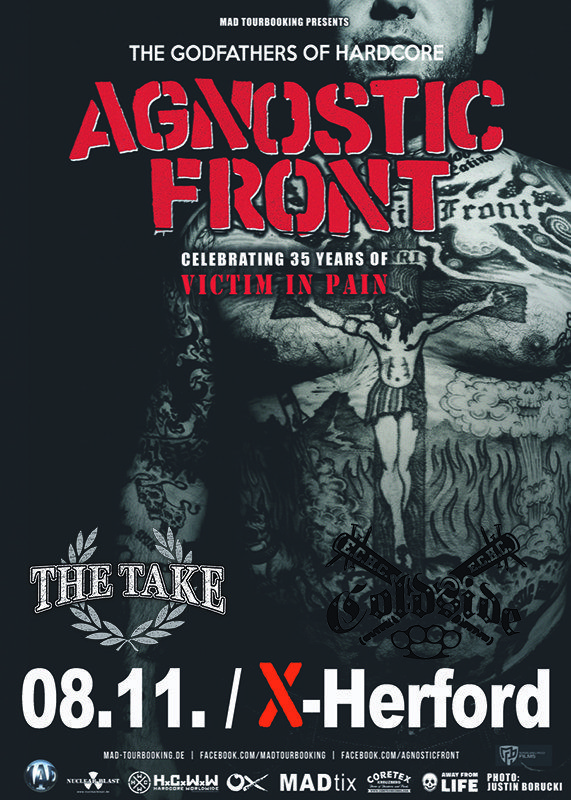 08-11-2019 Agnostic Front & The Take & Coldside