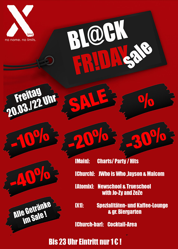 20-03-2020 BL@CK Fr!day SALE