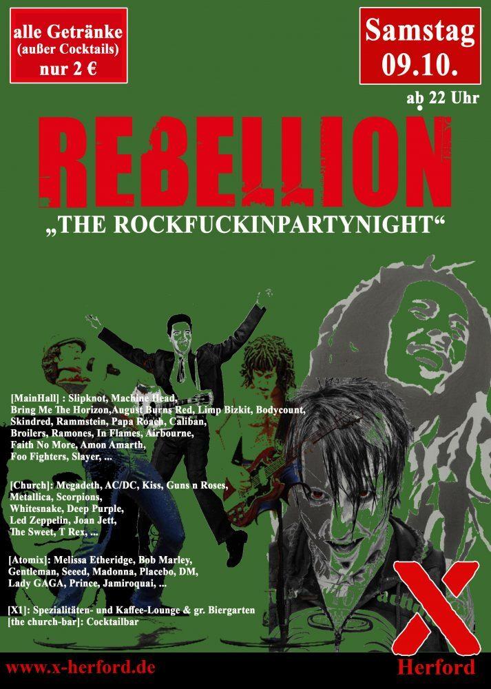 REBELLION - THE ROCKFUCKINPARTYNIGHT